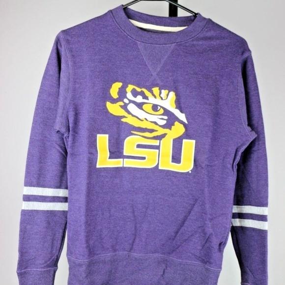 Tops - LSU Tigers Women's Crewneck Sweatshirt (Purple)